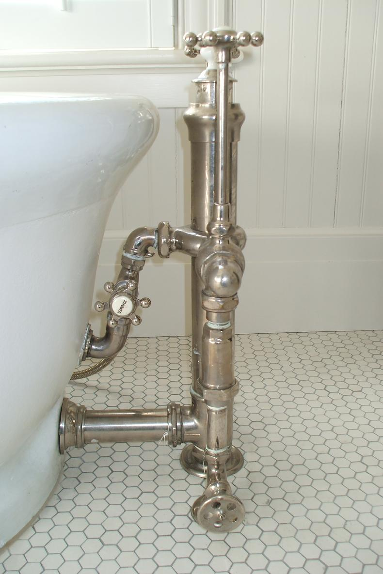 Antique plumbing, restorationand installation By Master Plumber ...